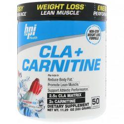 BPI Sports, CLA + Carnitine, Rainbow Ice, 11.29 oz (320 g) Zdrowie i Uroda