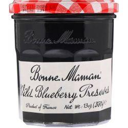 Bonne Maman, Wild Blueberry Preserves, 13 oz (370 g) Zdrowie i Uroda