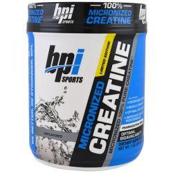 BPI Sports, Micronized Creatine, Limited Edition, Unflavored, 1.32 lbs (600 g) Zdrowie i Uroda