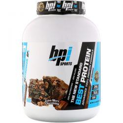 BPI Sports, Best Protein, Advanced 100% Protein Formula, Chocolate Brownie, 5.1 lbs (2,329 g) Zdrowie i Uroda