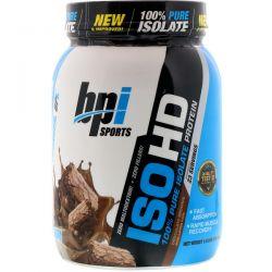 BPI Sports, ISO HD, 100% Pure Isolate Protein, Chocolate Brownie, 1.6 lbs (736 g) Zdrowie i Uroda