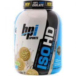 BPI Sports, ISO HD, 100% Pure Isolate Protein, Vanilla Cookie, 4.8 lbs (2170 g) Zdrowie i Uroda