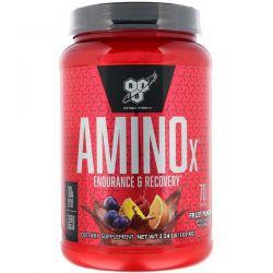 BSN, AminoX, Endurance & Recovery, Fruit Punch, 2.24 lb (1.02 kg) Zdrowie i Uroda