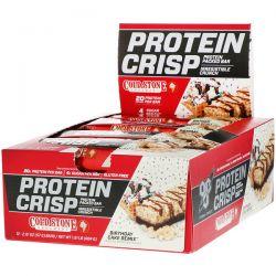 BSN, Protein Crisp, Birthday Cake Remix, 12 Bars, 2.01 oz (57 g) Each Zdrowie i Uroda