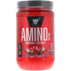 BSN, AminoX, Endurance & Recovery, Watermelon, 15.3 oz (435 g) Zdrowie i Uroda