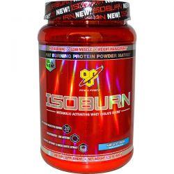 BSN, Isoburn, Metabolic Activating Whey Isolate Blend, Vanilla Ice Cream, 1.32 lb (600 g) Zdrowie i Uroda