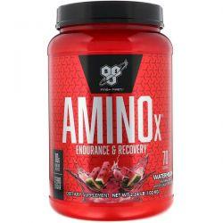 BSN, AminoX, Endurance & Recovery, Watermelon, 2.24 lb (1.02 kg) Zdrowie i Uroda