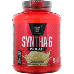 BSN, Syntha-6 Isolate, Protein Powder Drink Mix, Vanilla Ice Cream, 4.02 lbs (1.82 kg) Zdrowie i Uroda