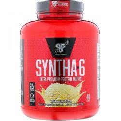 BSN, Syntha-6, Ultra Premium Protein Matrix, Vanilla Ice Cream, 5.0 lbs (2.27 kg) Zdrowie i Uroda