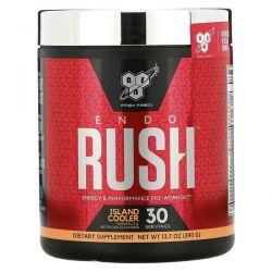 BSN, ENDORUSH, Pre-Workout, Island Cooler, 13.7 oz (390 g) Zdrowie i Uroda