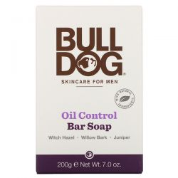Bulldog Skincare For Men, Bar Soap, Oil Control, 7.0 oz (200 g) Zdrowie i Uroda