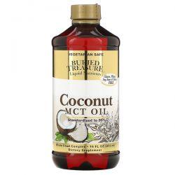 Buried Treasure, Liquid Nutrients, Coconut Oil, 16 fl oz (473 ml) Zdrowie i Uroda