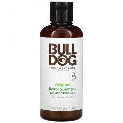 Bulldog Skincare For Men, Original Beard Shampoo & Conditioner for Men, 6.7 fl oz (200 ml) Zdrowie i Uroda
