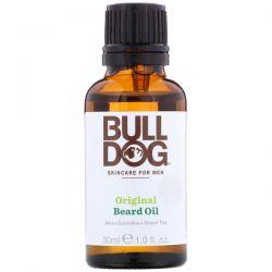 Bulldog Skincare For Men, Original Beard Oil, 1 fl oz (30 ml) Zdrowie i Uroda
