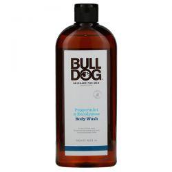Bulldog Skincare For Men, Body Wash, Peppermint & Eucalyptus, 16.9 fl oz (500 ml) Zdrowie i Uroda