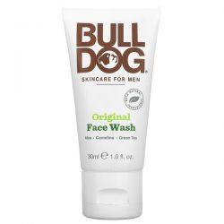 Bulldog Skincare For Men, Original Face Wash, 1.0 fl oz (30 ml) Zdrowie i Uroda