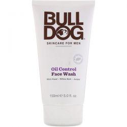 Bulldog Skincare For Men, Oil Control Face Wash, 5 fl oz (150 ml) Zdrowie i Uroda