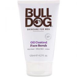 Bulldog Skincare For Men, Oil Control Face Scrub, 4.2 fl oz (125 ml) Zdrowie i Uroda