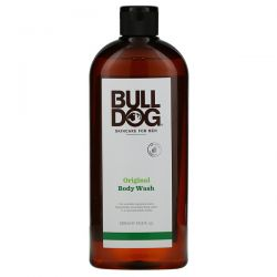 Bulldog Skincare For Men, Body Wash, Original, 16.9 fl oz (500 ml) Zdrowie i Uroda