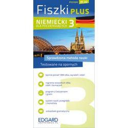 Fiszki Plus. Niemiecki dla początkujących 3 - Opracowanie zbiorowe  Pozostałe