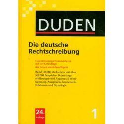 Duden 1 Die Deutsche Rechtschreibung - Opracowanie zbiorowe  Pozostałe