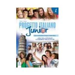 Progetto italiano junior 1. Podręcznik z ćwiczeniami + CD - Marin Telis  Pozostałe