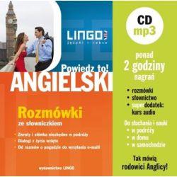 Powiedz to angielski. Rozmówki + audiobook MP3 - Opracowanie zbiorowe  Pozostałe