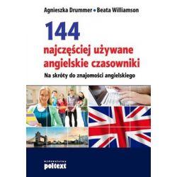 144 najczęściej używane angielskie czasowniki - Drummer Agnieszka  Pozostałe