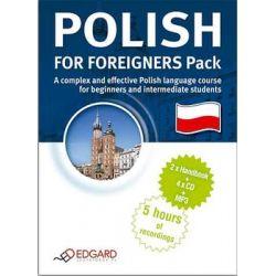 Polski dla Obcokrajowców - Pakiet - Opracowanie zbiorowe  Książki do nauki języka obcego