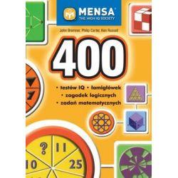 400 testów IQ, łamigłówek, zagadek logicznych, zadań matematycznych - Bremner John  Pozostałe