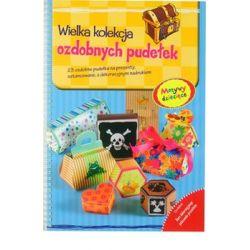 Wielka kolekcja ozdobnych pudełek. Motywy dziecięce - Lenz Angelika  Poradniki i albumy