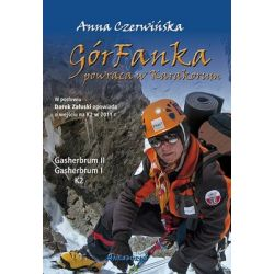 GórFanka powraca w Karakorum - Czerwińska Anna  Poradniki i albumy