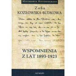 Wspomnienia z lat 1893-1923 - Kozłowska-Budkowa Zofia  Biografie, wspomnienia