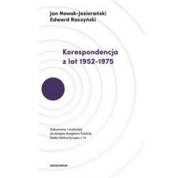 Korespondencja z lat 1952-1975 - Nowak-Jeziorański Jan  Biografie, wspomnienia