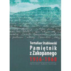 Pamiętnik z Zakopanego 1956-1968 - Stablewski Tertulian  Biografie, wspomnienia