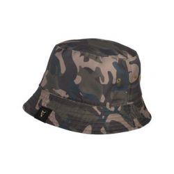Kapelusz dwustronny Fox Khaki /Camo Reversible Bucket Hat - Fox  Pozostałe