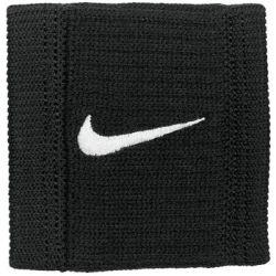 Frotki na rękę Nike Dri-Fit Reveal Wristbans 2 szt. czarne NNNJ0052 - Nike  Pozostałe
