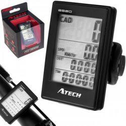 Atech, Licznik, BS-20 bezprzewodowych, czarny - Atech