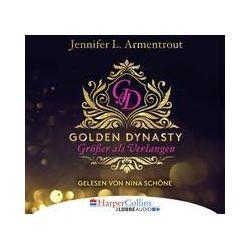 Golden Dynasty - Größer als Verlangen - Jennifer L. Armentrout Audiobooki