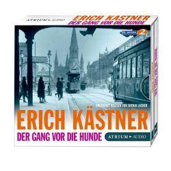 Der Gang vor die Hunde CD - Erich Kästner Audiobooki