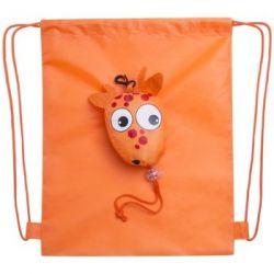 Worek ze sznurkiem KEMER Pomarańczowy - pomarańczowy - KEMER  Pozostałe