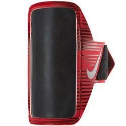Nike, Saszetka na ramię, Printed Lean Arm Band NRN68827, czerwony, 13x7 cm - Nike  Pozostałe