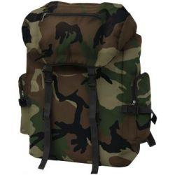 Plecak w wojskowym stylu vidaXL, moro, 60 l - vidaXL   Pozostałe