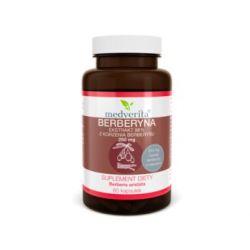 Medverita, Berberyna 98% 200 mg, 60 kapsułek - Medverita  Pozostałe
