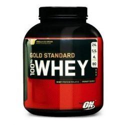 Optimum, Whey Gold Standard, podwójna czekolada, 2270 g - Optimum Nutrition