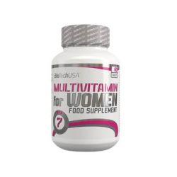 BioTech, Witaminy i minerały, Multivitamin For Women, 60 tab - BioTech  Pozostałe