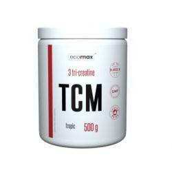 Ecomax, Kreatyna, TCM Tri Creatine, 500 g, jabłko - Ecomax  Pozostałe