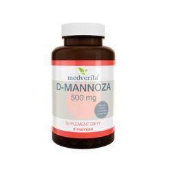 Medverita, D-mannoza, 500 mg, 50 kapsułek - Medverita  Pozostałe
