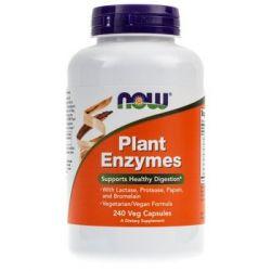 Now Foods, Plant Enzymes, 240 kapsułek - Now Foods  Pozostałe