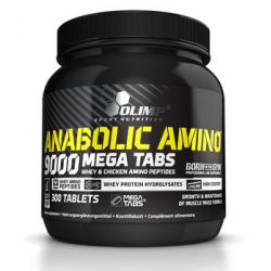 Olimp, Suplement aminokwasowy, Anabolic Amino 9000 Mega, 300 tabletek - Olimp  Siłownia i fitness